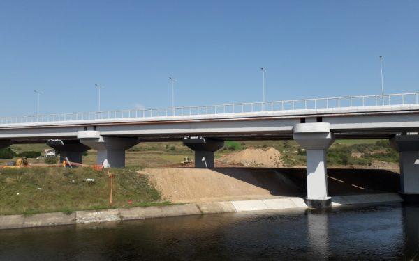 Ultima revizie tehnică a podului de la Gilău. Șoferii vor câștiga încă 9 kilometri din A3
