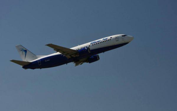 Un avion Blue Air de pe ruta Cluj – Dublin a aterizat la Bratislava, pentru verificări suplimentare