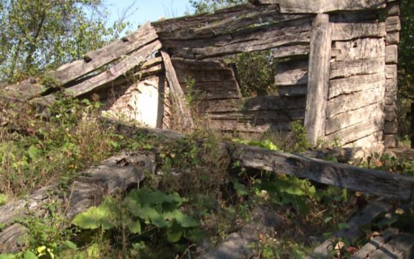 Casa în care s-a născut Constantin Brâncuși s-a prăbușit