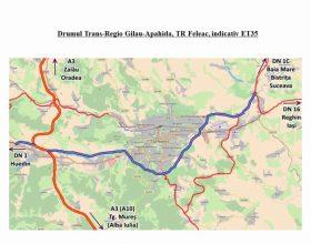 Liber pentru cel mai important proiect de infrastructură al Clujului. S-a semnat contractul pentru primul pas în construcția centurii metropolitane