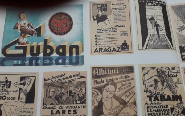 FOTO | 100 de ani de branding românesc. Expozție inedită cu creații publicitare pentru cele mai vechi produse din România