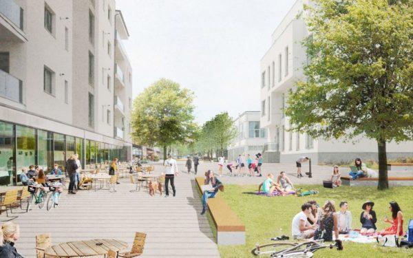 FOTO | La Cluj, o alee de cartier va fi transformată în prima stradă smart din România