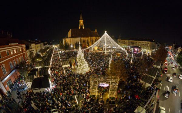 1 Decembrie la Cluj-Napoca: defilare militară, reînscenare istorică, focuri de artificii și concerte cu Holograf și Zbob și Zdub