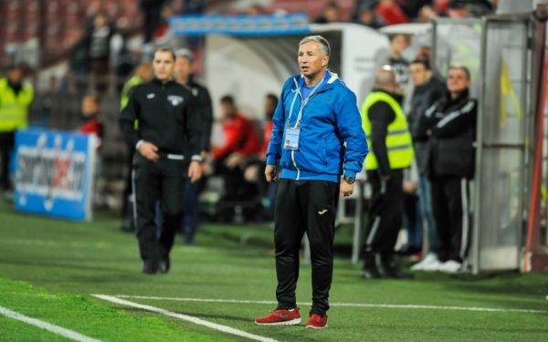 Dan Petrescu, antrenor CFR Cluj: Obiectivul e câştigarea campionatului şi calificarea în grupele cupelor europene
