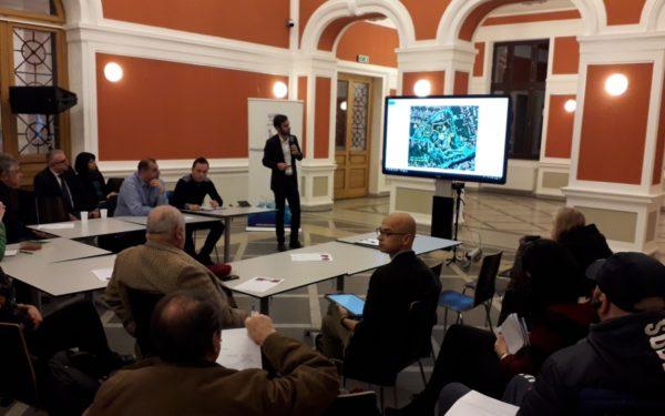 FOTO   Propunere inedită pentru Cetățuie: plantație de viță-de-vie pe versantul sudic