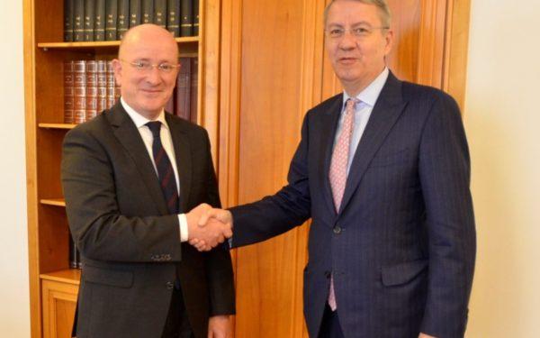 Președintele a semnat decretul de numire a lui George Ciamba ca ministru al Afacerilor Europene