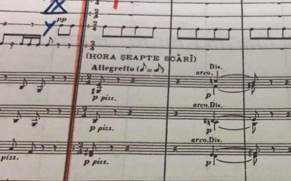 """Premieră la Cluj: """"Poema română"""", prima lucrare a lui George Enescu, pe scena Filarmonicii de Stat Transilvania"""