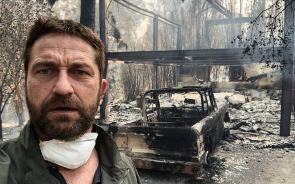Casa lui Gerard Butler, distrusă în incendiile din California, care au provocat 31 de morți