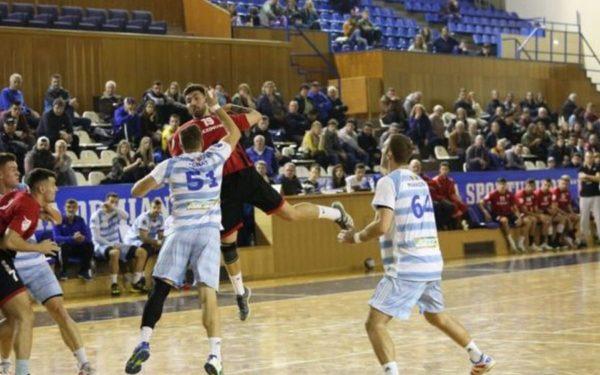 Handbaliștii de la Universitatea Cluj au încheiat cu o înfrângere turul de campionat