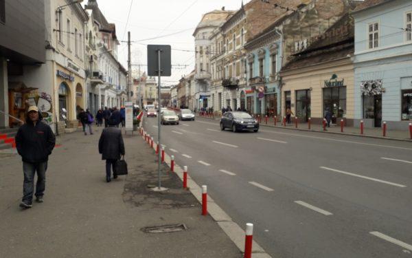 Strada Regele Ferdinand din Cluj-Napoca va avea sens unic, iar autobuzele vor circula pe bandă dedicată