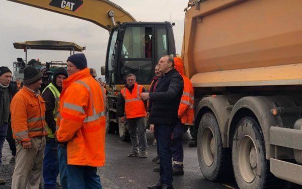 Două loturi ale autostrăzii Câmpia Turzii-Târgu Mureș vor fi date în funcțiune până la sfârșitul anului