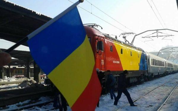 400 de elevi din Cluj merg cu Trenul Unirii la Alba Iulia, de 1 Decembrie