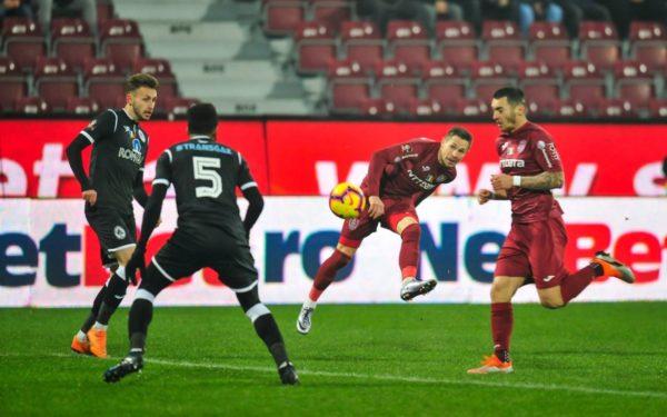 CFR Cluj a terminat la egalitate meciul cu Gaz Metan Mediaș. Culio a ratat un penalty în prelungiri