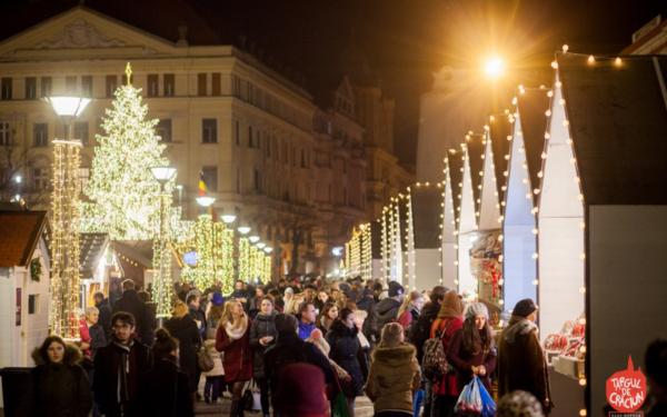 Târgul de Crăciun de la Cluj, printre cele mai frumoase din Europa