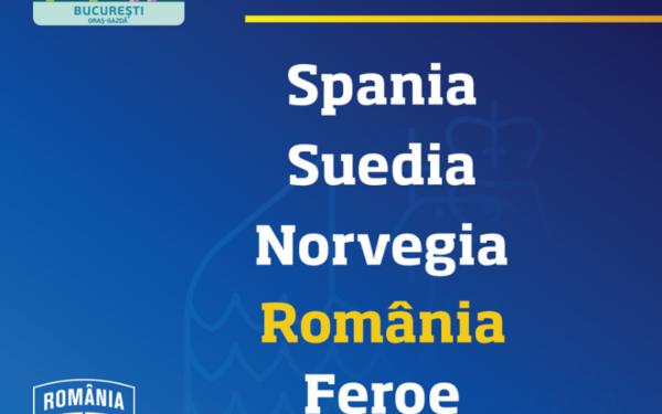 România, în grupa F a preliminariilor Campionatului European din 2020, alături de Spania, Suedia, Norvegia, Insulele Feroe şi Malta