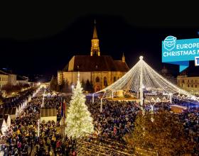 Târgul de Crăciun din Cluj, desemnat unul dintre cele mai frumoase din Europa, s-a închis oficial