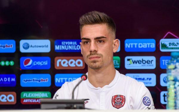 CFR Cluj l-a împrumutat pe Andrei Radu la Dunărea Călărași