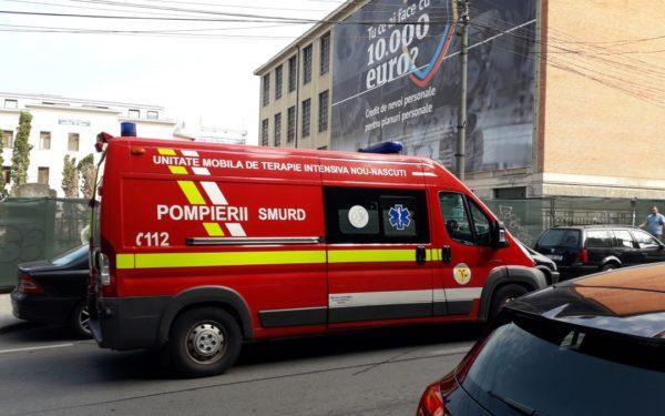 Din cauza defecțiunilor, ambulanțele SMURD Cluj nu au putut fi folosite anul trecut, cumulat, timp de 1.200 de zile