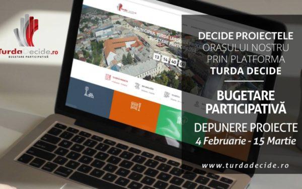 Primăria Turda lansează un proces de bugetară participativă
