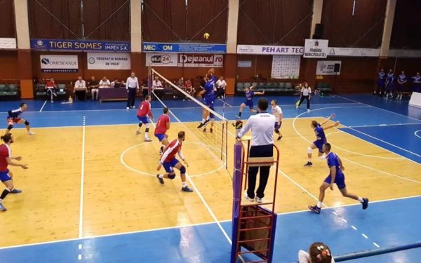 Volei masculin: Unirea Dej s-a impus la Craiova