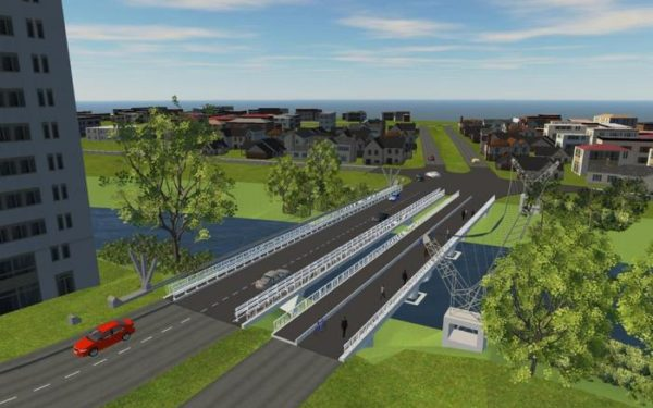 Lucrările la podul de pe strada Porțelanului încep în câteva zile. Va fi construit un pod nou pentru traficul auto, iar cel vechi va deveni pietonal
