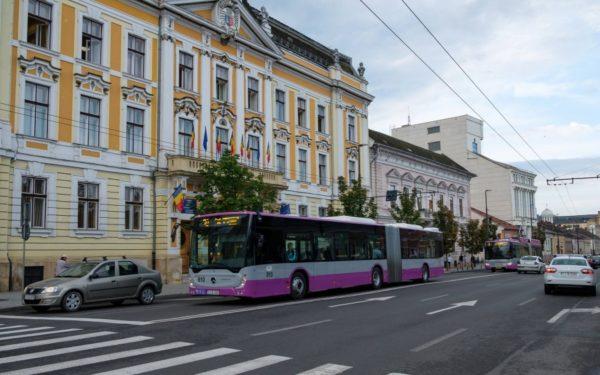 Bilete cu două călătorii la automatele Companiei de Transport Public Cluj-Napoca