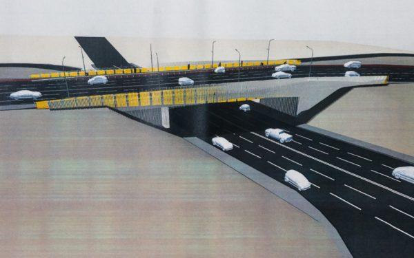 FOTO | Cum va arăta podul N: piste de biciclete de 2 metri și sistem de supraveghere video