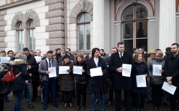 Activitatea instanțelor clujene rămâne suspendată, în ciuda anunțului făcut de ministrul Justiției, Tudorel Toader
