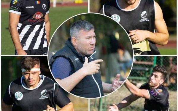 Patru jucători de la echipa de rugby a Universității Cluj se află în stagiul de pregătire al naționalei de tineret