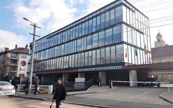 Noul sediu al Inspectoratului Școlar Județean Cluj a fost inaugurat