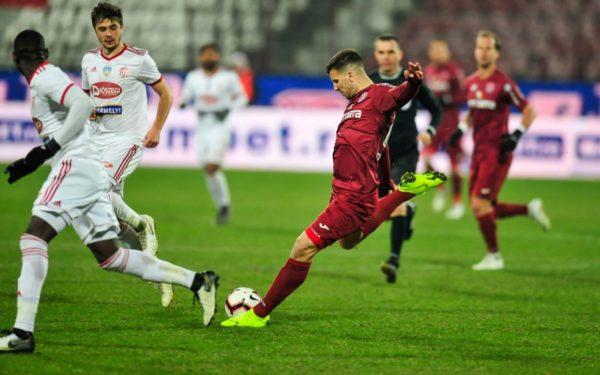 CFR Cluj a debutat cu dreptul în play-off-ul Ligii 1 de fotbal. Țucudean a înscris cel mai rapid gol al acestui sezon