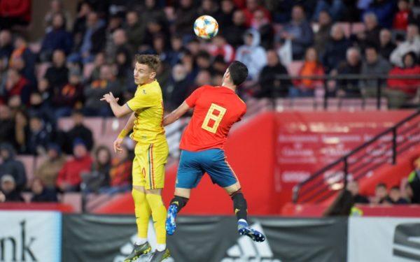 Reprezentativa U21 a României a pierdut cu 1-0 partida amicală cu selecționata Spaniei