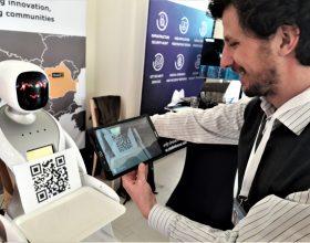 Startup Europe Summit   Inovații dezvoltate la Cluj: robotul-ospătar și sistemul inteligent care ajută la dirijarea avioanelor