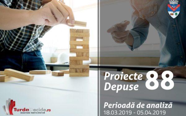 88 de proiecte au fost depuse în cadrul proiectului de bugetare participativă Turda decide