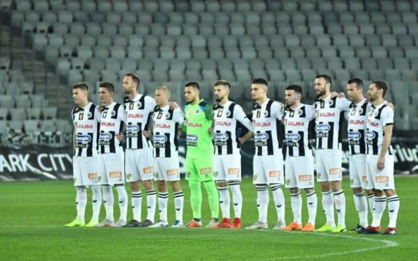 Universitatea Cluj continuă lupta pentru promovare în Liga I. Studenții au bătut cu 6-2 echipa Daco-Getica