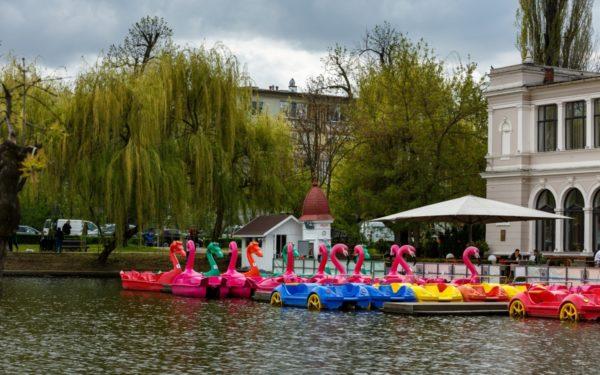 Se deschide sezonul de canotaj pe lacurile din Parcul Central și Gheorgheni