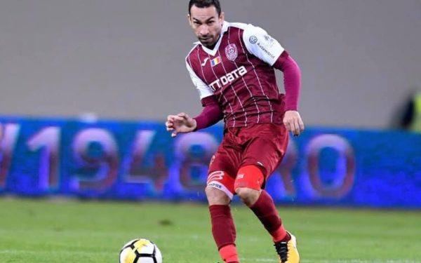 Fundașul CFR Cluj, Paulo Vinicius, inclus de LPF în echipa etapei