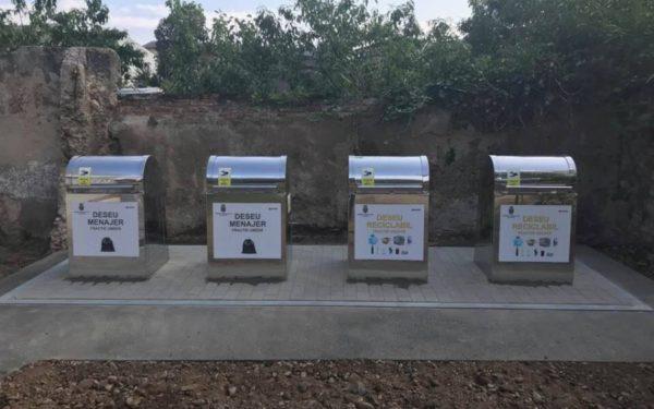 Platforme îngropate de colectare selectivă a deșeurilor și grupuri de pubele inteligente noi, la Cluj
