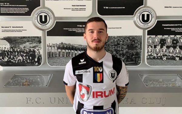Mijlocașul Sebastian Chitoșcă a semnat cu Universitatea Cluj