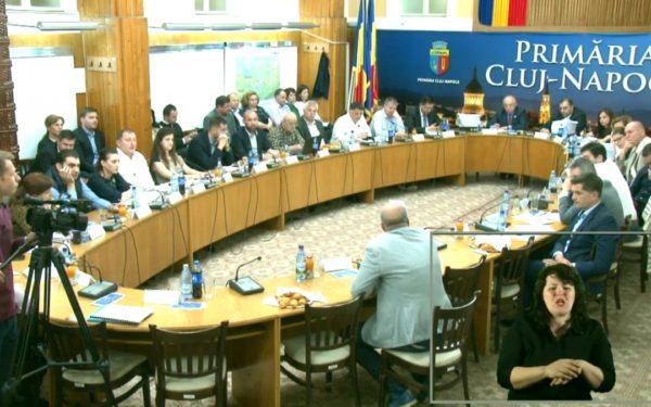 Ședințele Consiliului local Cluj-Napoca sunt traduse în timp real în limbajul semnelor