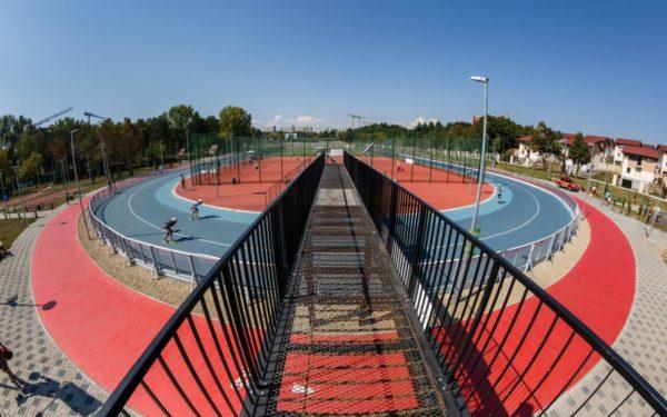 Parc de aventură și paintball. Activități noi în Baza sportivă din Gheorgheni
