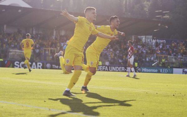Echipa națională de tineret a României a învins Croația cu 4-1
