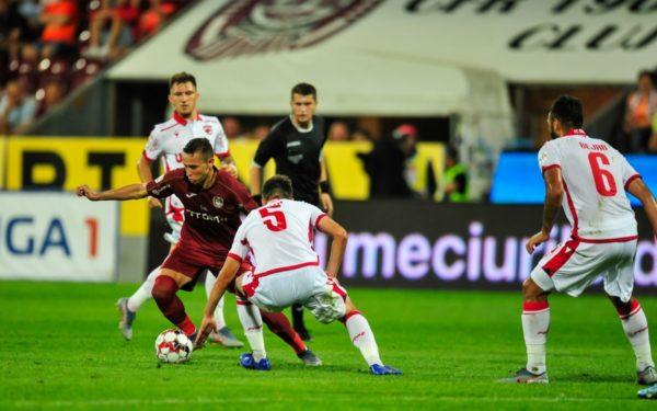 CFR Cluj – Dinamo București 1-0, în etapa a treia din Liga I