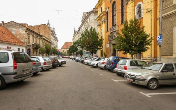 Parcarea se poate plăti la Cluj și cu telefonul mobil