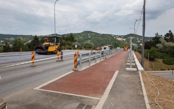 Podul N se deschide pe patru benzi de la mijlocul lunii august
