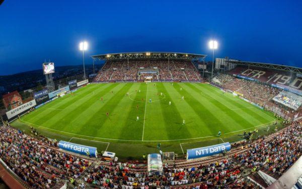 Biletele la meciul CFR Cluj-Slavia Praga pot fi achiziționate online