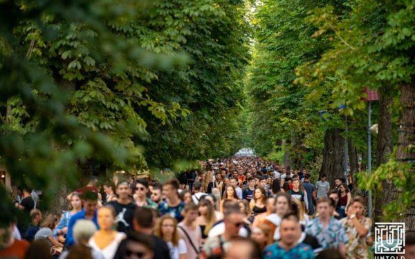 Parcul Central din Cluj intră în reabilitare după Untold. Cât durează lucrările