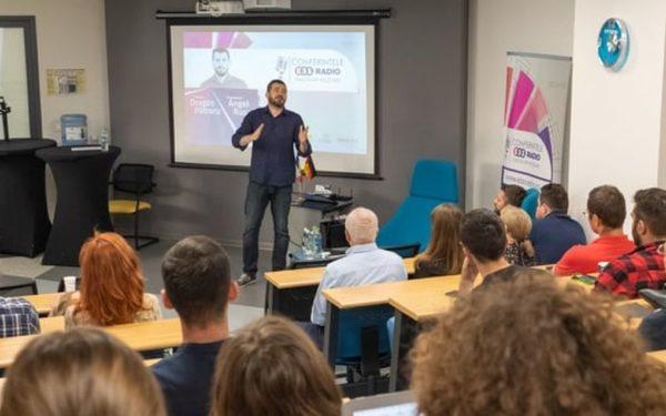 Conferințele EBS Radio au debutat cu un invitat de marcă: Dragoș Pătraru