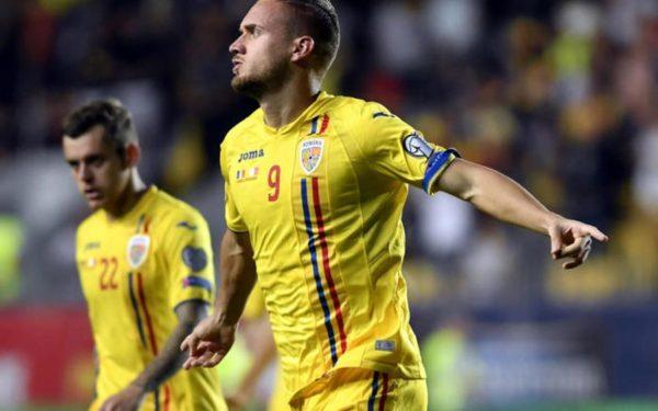 România a învins Malta în preliminariile Euro 2020. George Pușcaș a fost autorul singurului gol al partidei