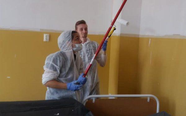 Clinica de Pediatrie 1 din Cluj, modernizată cu ajutorul voluntarilor